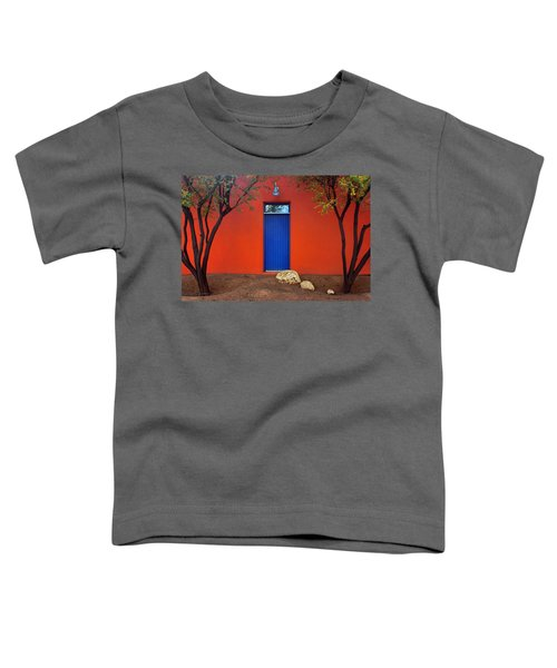 Trees And Door - Barrio Historico - Tucson Toddler T-Shirt