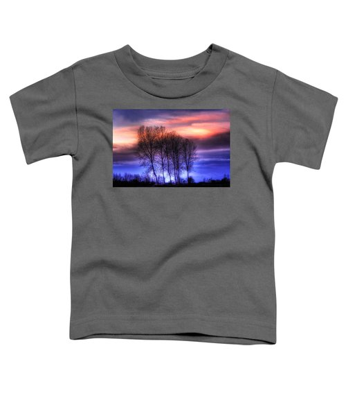 Trees And Twilight Toddler T-Shirt