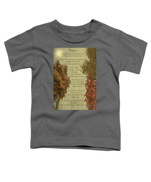 Trees Toddler T-Shirt