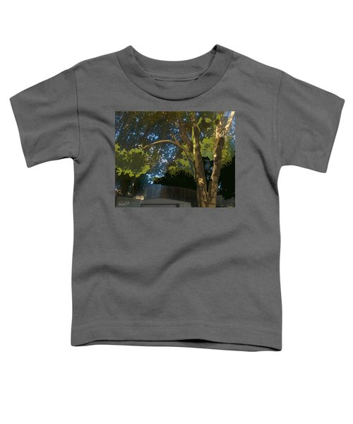Trees In Park Toddler T-Shirt
