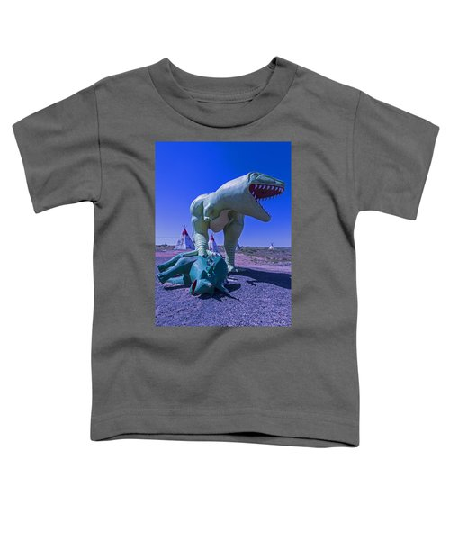 Trex And Triceratops  Toddler T-Shirt