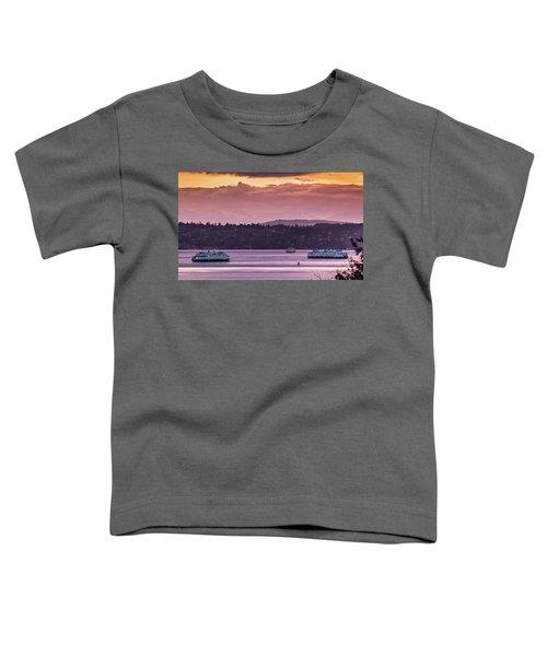 Triangle Ferry Run Toddler T-Shirt