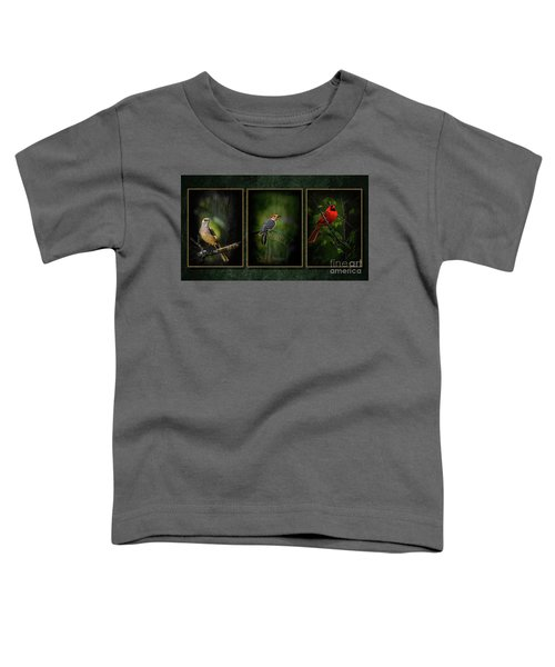 Triptych Toddler T-Shirt