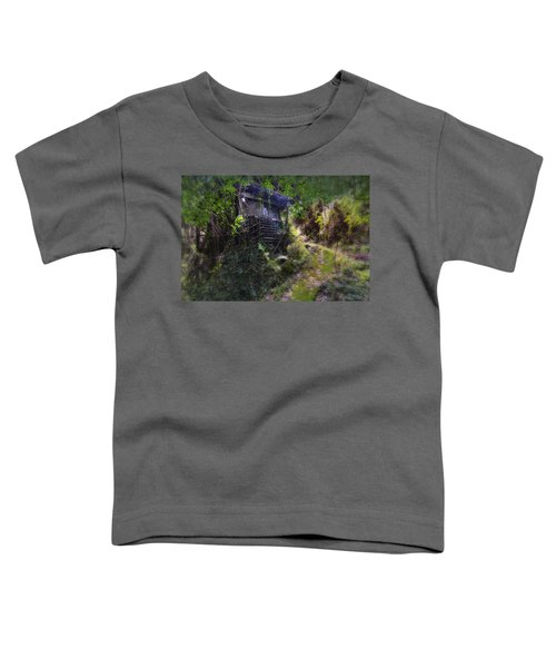 Trolley Bus Into The Jungle Toddler T-Shirt