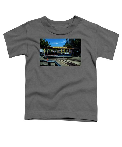Trolley Car Turn Around Toddler T-Shirt