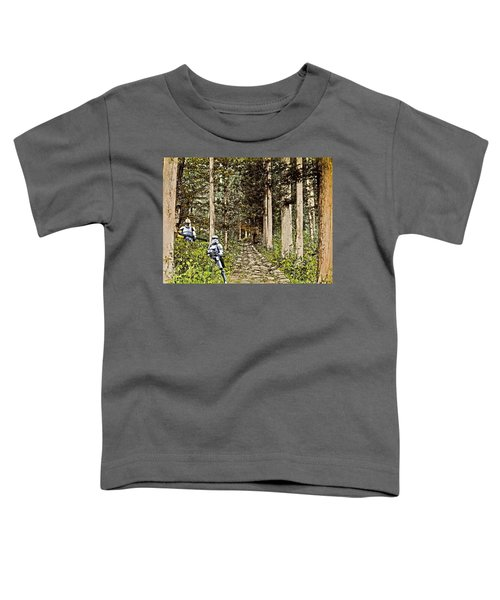 Troopers On The Planet Toddler T-Shirt