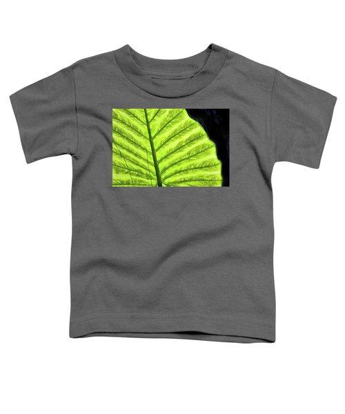 Tropical Leaf Toddler T-Shirt