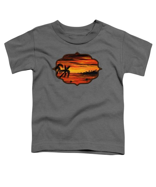 Tropical Night Toddler T-Shirt