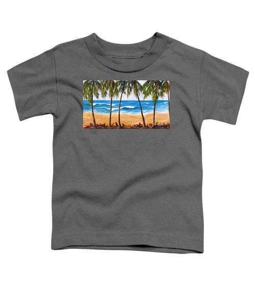 Tropical Palms 2 Toddler T-Shirt