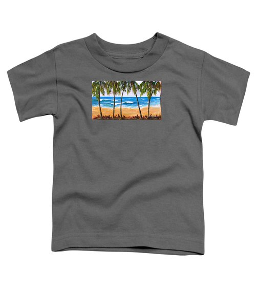 Tropical Palms 2 Toddler T-Shirt