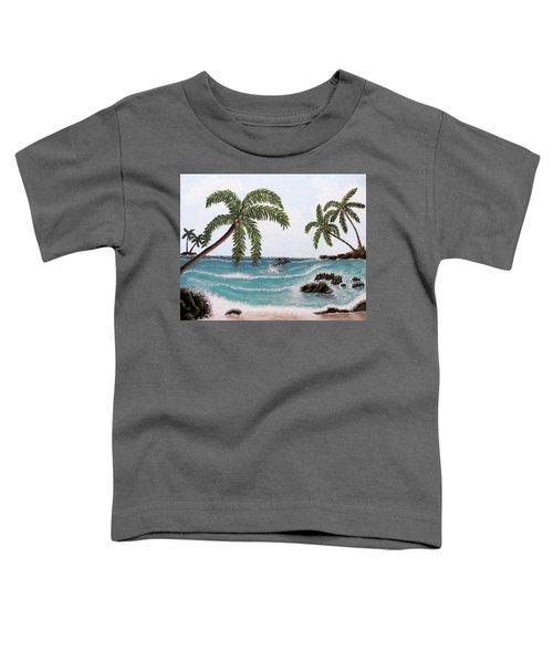 Tropical Paradise Toddler T-Shirt