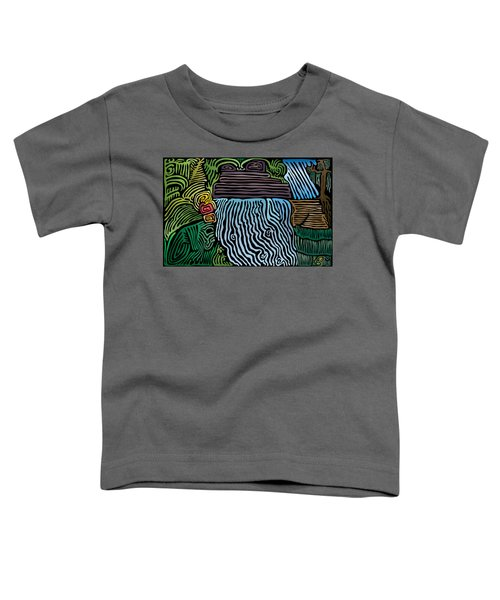 Tropical River Toddler T-Shirt