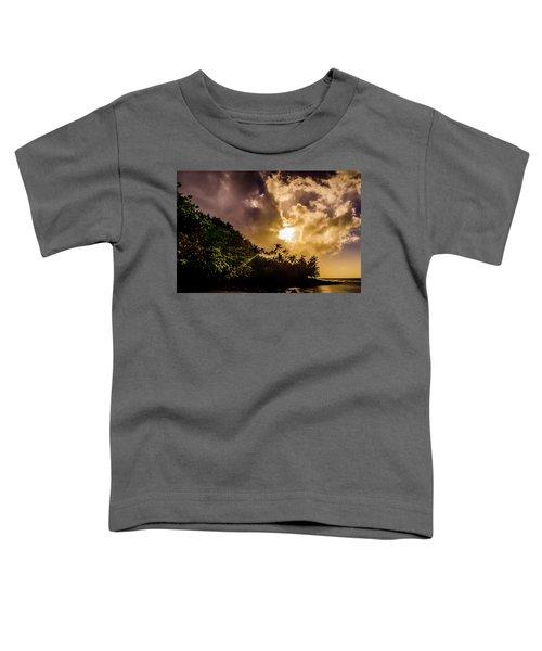 Tropical Sunset Toddler T-Shirt