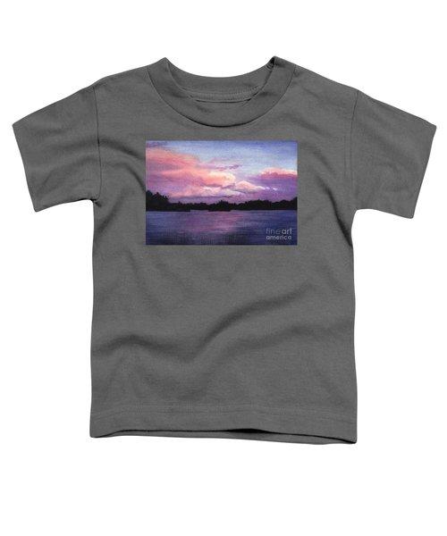 Trout Lake Sunset I Toddler T-Shirt