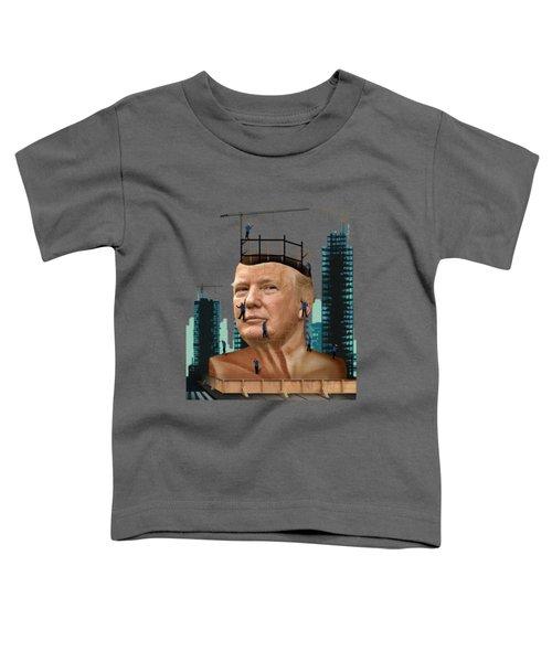 Trump Tower Toddler T-Shirt by Joseph Juvenal