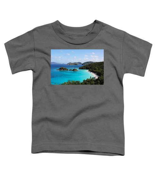 Trunk Bay, St. John Toddler T-Shirt