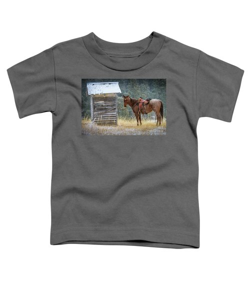 Trusty Horse  Toddler T-Shirt