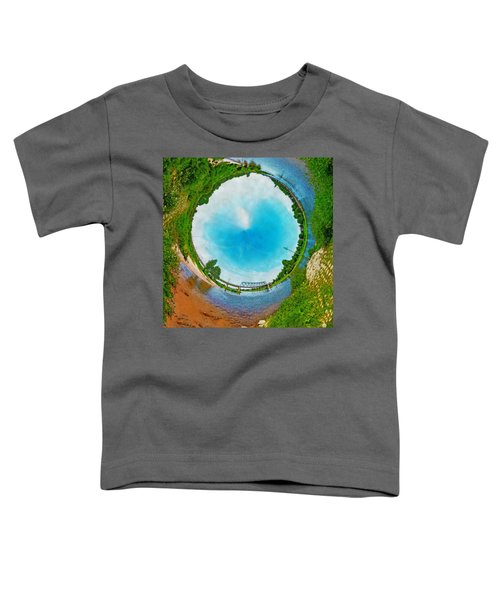 Tubular Panorama Deventer Toddler T-Shirt