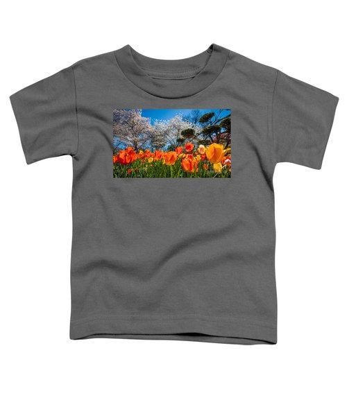 Tulip Panorama Toddler T-Shirt