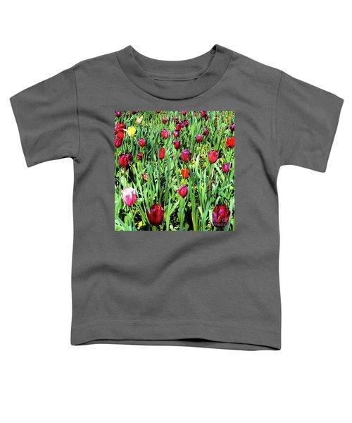 Tulips Blooming Toddler T-Shirt