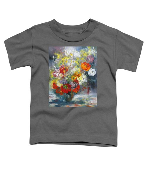 Tulips, Narcissus And Forsythia Toddler T-Shirt