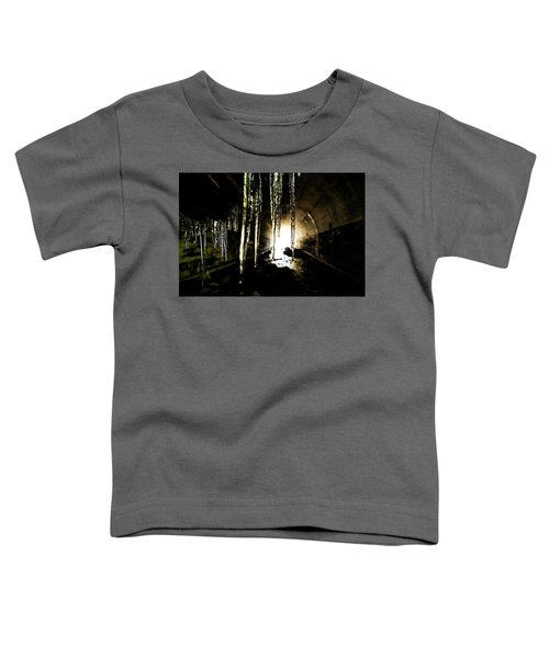 Tunnel Icicles Toddler T-Shirt