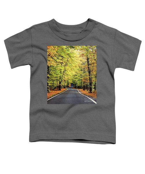 Tunnel Of Trees Toddler T-Shirt