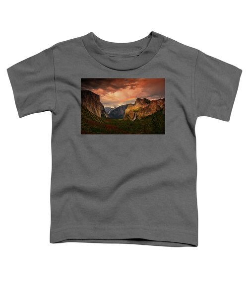 Tunnel View Rainbow Toddler T-Shirt