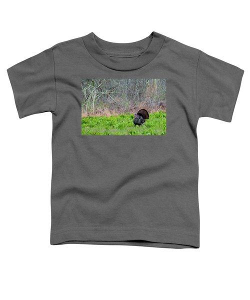 Toddler T-Shirt featuring the photograph Turkey And Cabbage by Bill Wakeley