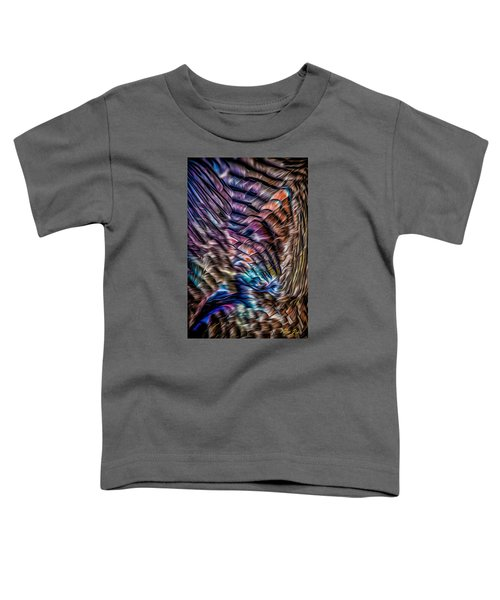 Toddler T-Shirt featuring the photograph Turkey Sides by Rikk Flohr