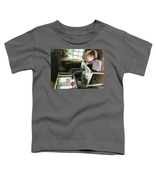 Turned Around Toddler T-Shirt