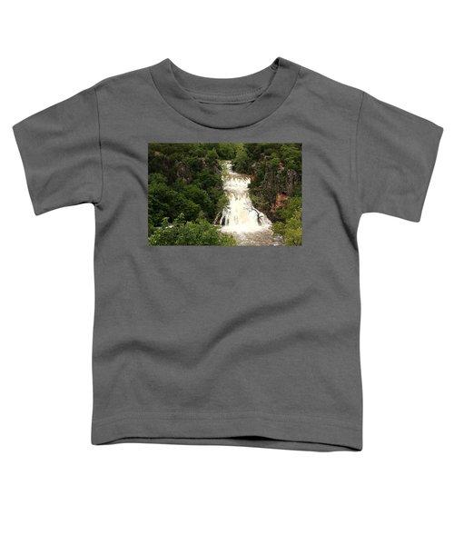 Turner Falls Waterfall Toddler T-Shirt