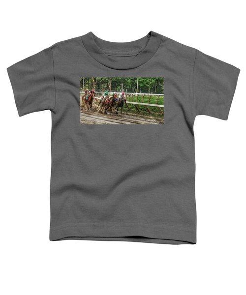 Turning The Mud Toddler T-Shirt