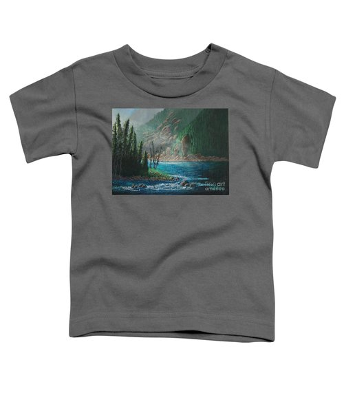 Turquoise River Toddler T-Shirt
