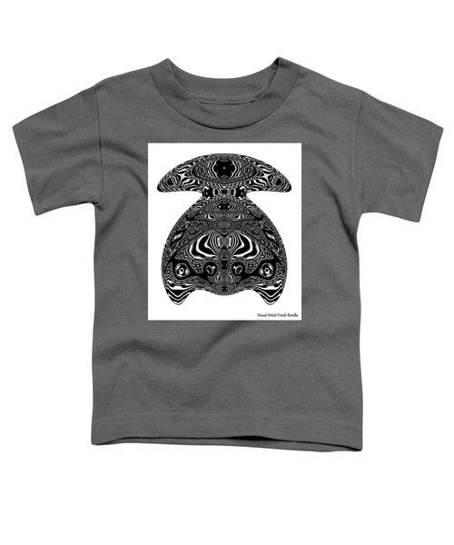 Turtle Art Toddler T-Shirt