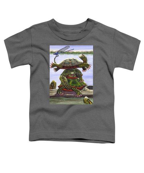 Turtle Circus Toddler T-Shirt