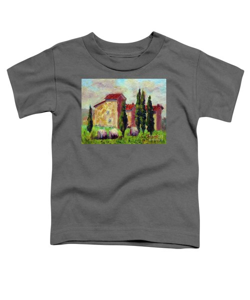 Tuscan House With Hay Toddler T-Shirt