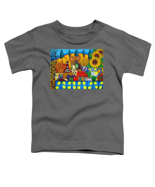 Tuscany Delights Toddler T-Shirt
