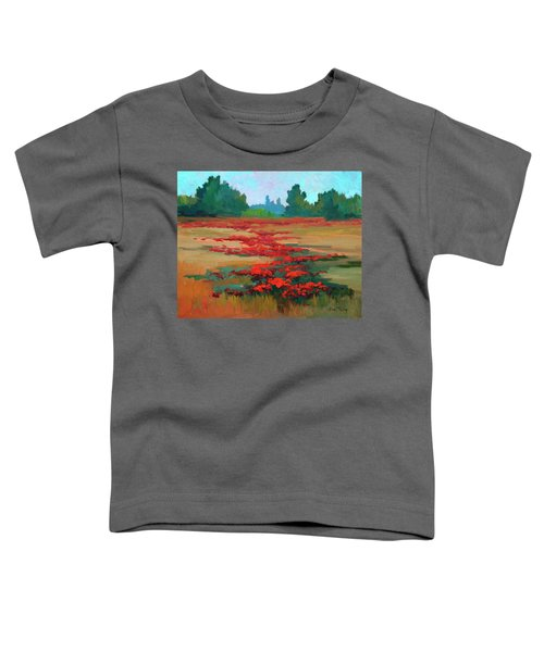 Tuscany Poppy Field Toddler T-Shirt