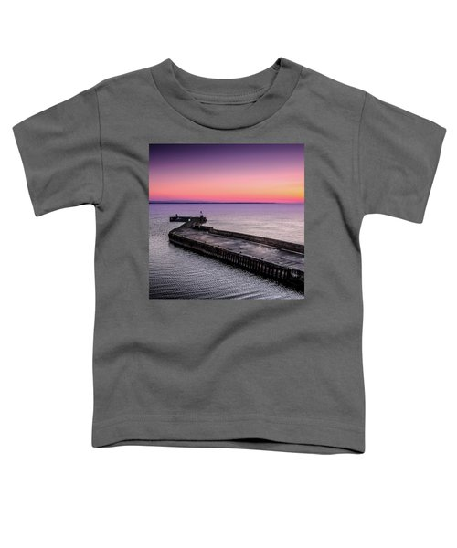 Twilight, Burghead Harbour Toddler T-Shirt