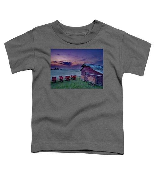 Twilight On The Farm Toddler T-Shirt