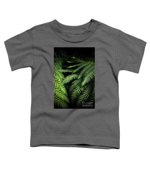 Twilight Rainforest Fern  Toddler T-Shirt