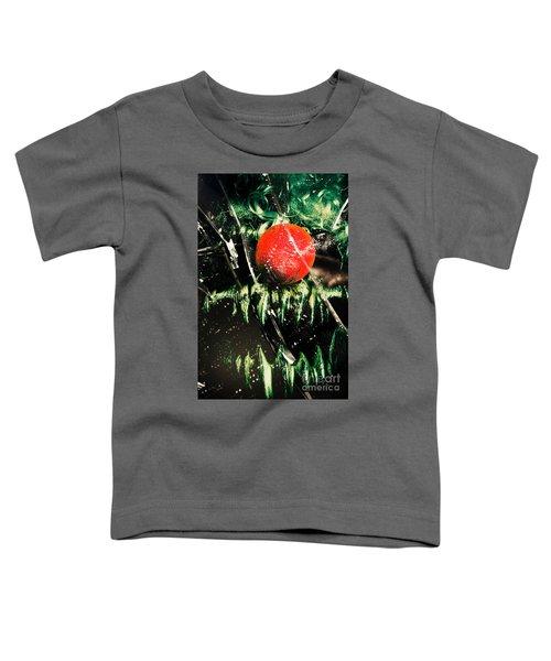 Twisted Evil Clown Portrait Toddler T-Shirt