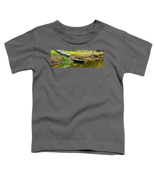 Two Boats Reflection 1024 Toddler T-Shirt