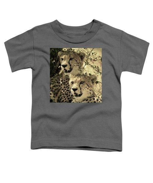 Two Cheetahs Toddler T-Shirt