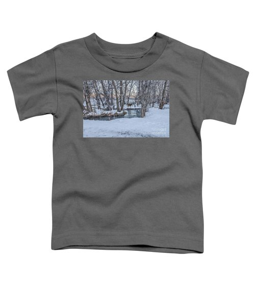 Two Deer At Sunset Toddler T-Shirt