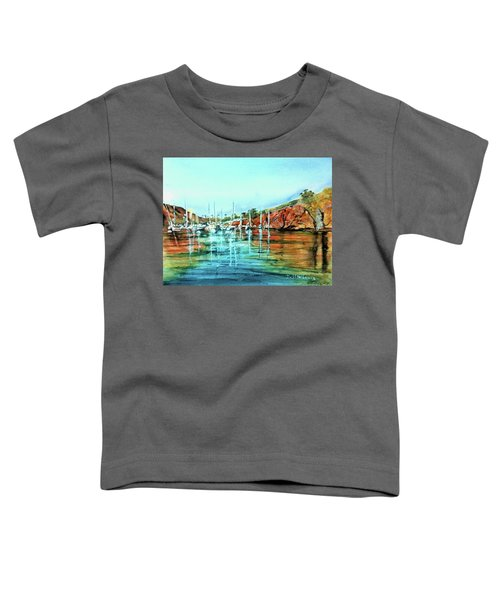 Two Harbors Catalina Morning Impressions Toddler T-Shirt