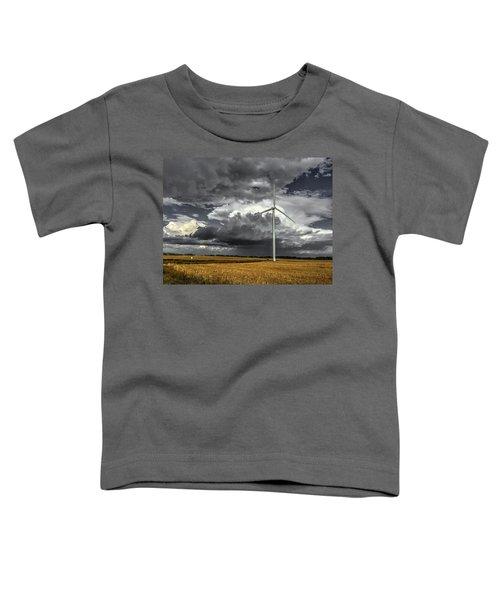 Two Tone Toddler T-Shirt