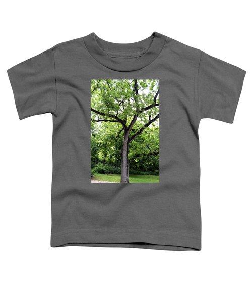 Two Tone Tree Toddler T-Shirt