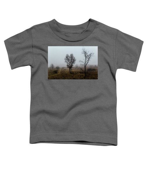 Two Trees In The Fog Toddler T-Shirt